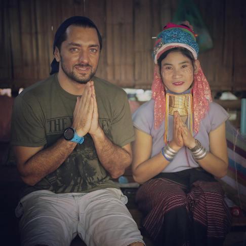 عکس بهرام رادان در کنار یک زن عجیب خارجی!