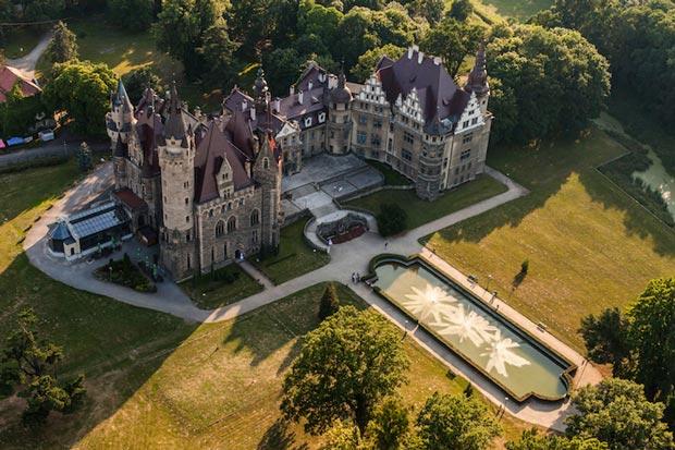 قلعه Moszna