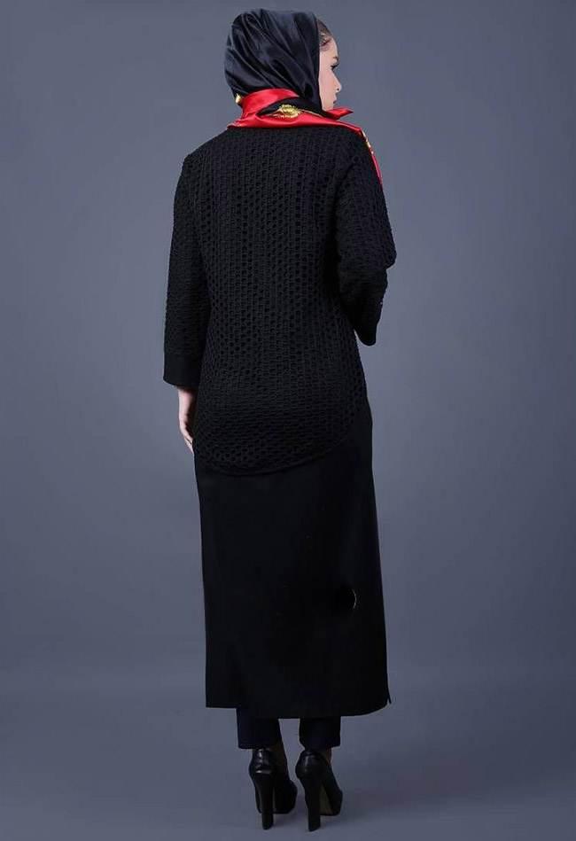 مدل مانتو زمستانی شیک و زیبای برند Chomas