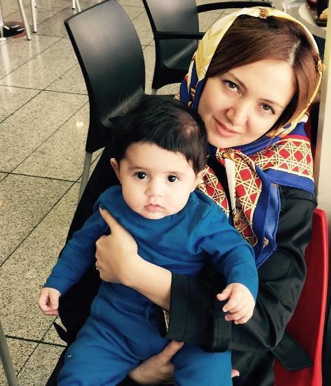 اولین عکس منتشر شده از همسر حمید گودرزی