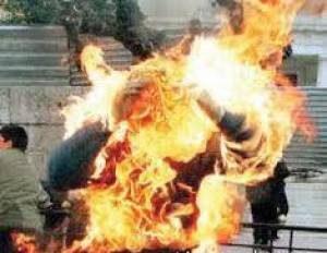 دختر تهرانی مقابل مدرسه خودکشی کرد و خودش را سوزاند