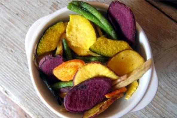 چیپس سبزیجات