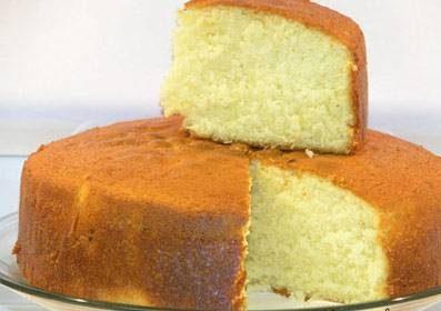 کیک شیر اسفنجی