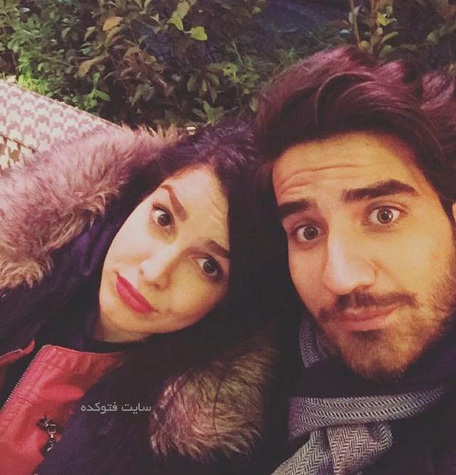 عکس های طاها وثوقی و همسرش نازنین چراغی در شبکه جم + بیوگرافی