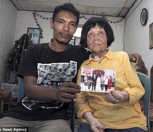 پسر جوان عاشق صدای پیرزن 82 ساله شد و با وی ازدواج کرد!