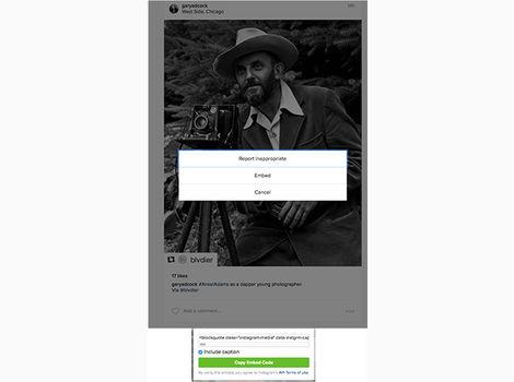 تصاویر را در وب پیوست کنید