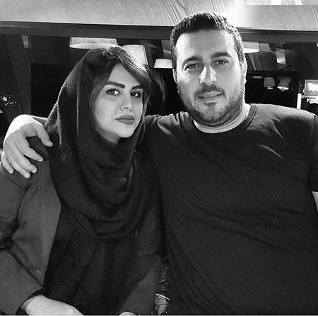 عکس محسن کیایی و همسرش