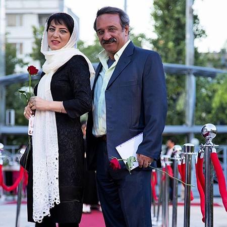 عکس حمیرا ریاضی و همسرش علی اوسیوند