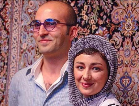 عکس ويدا جوان و همسرش
