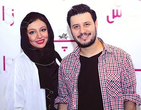 عکس جواد عزتی و همسرش