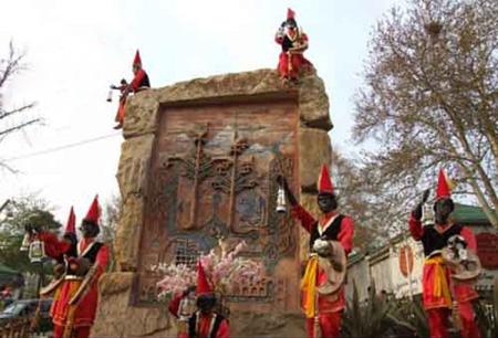 حاجی فیروز و رسوم عید نوروز در همدان