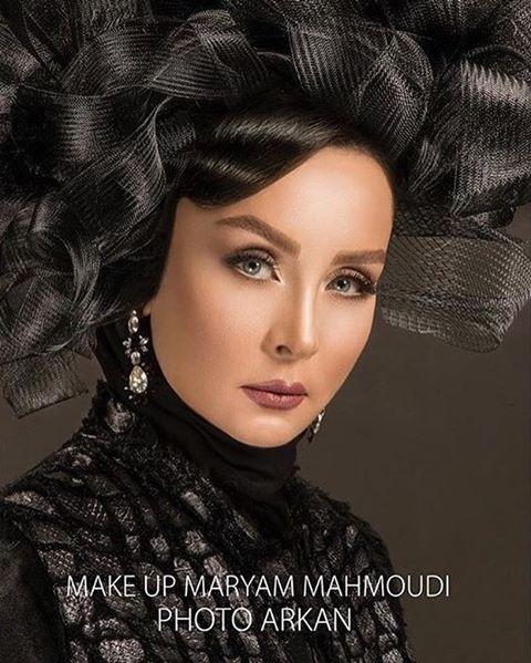 عکس جذاب حدیث فولادوند به عنوان مدل آرایشی