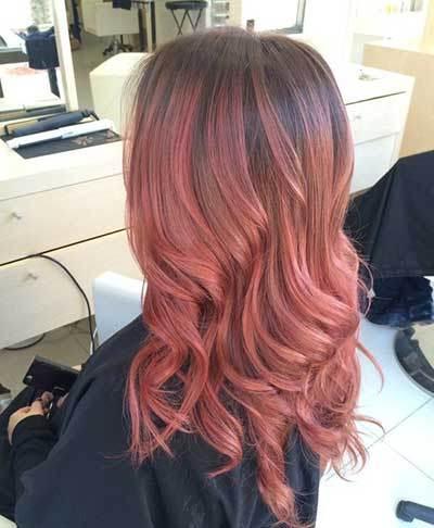 مدل رنگ مو و هایلایت مو