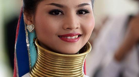 زنان گردن بلند در میانمار