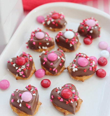 [blocked]عکس هایی از تزیین شکلات ولنتاین