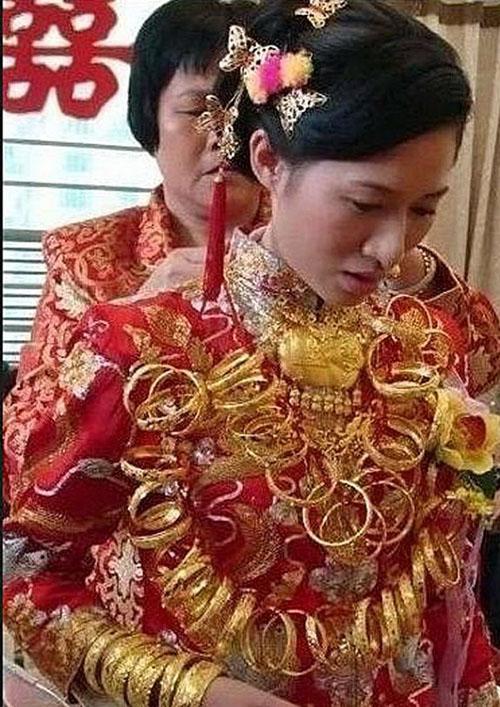 عکس گران قیمت ترین عروس خانم دنیا!