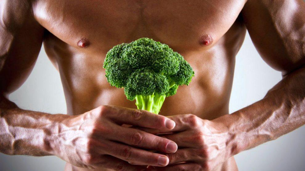 روش عضله سازی با رژیم غذایی گیاه خواری