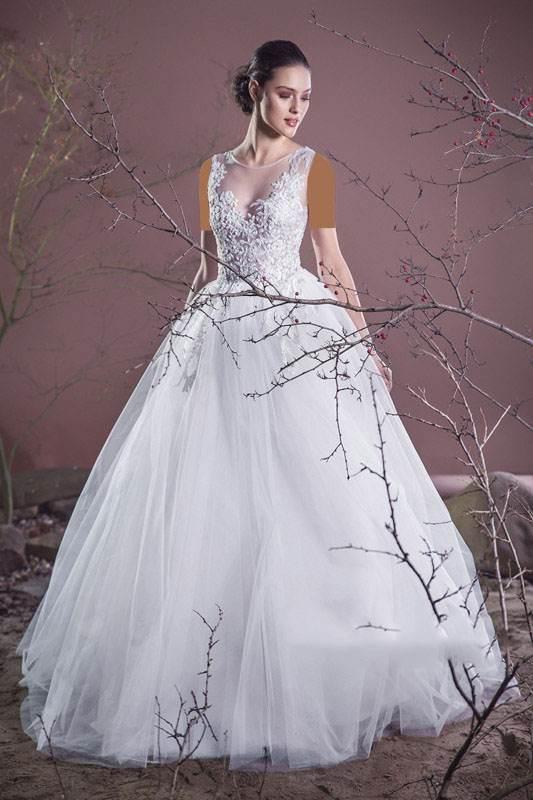 لباس عروس Cristallini 3 مدل های لباس عروس برند Cristallini برای عروس های زیبا مدل لباس