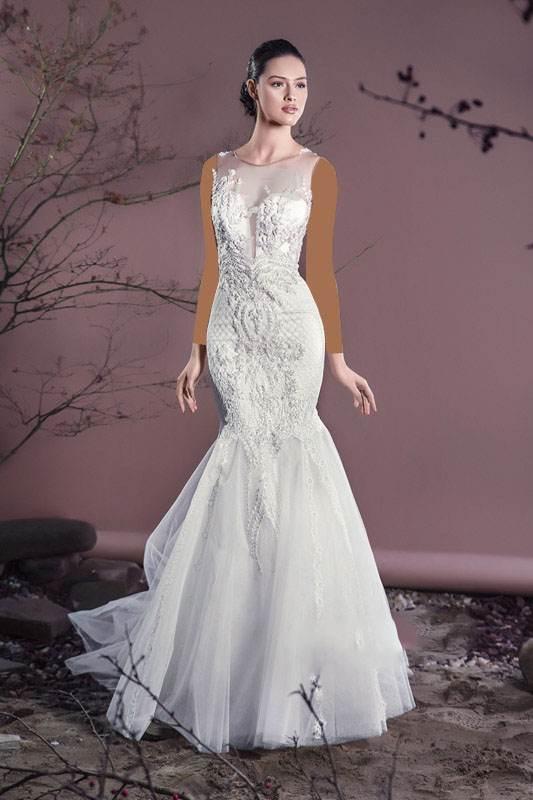 مدل های لباس عروس برند Cristallini