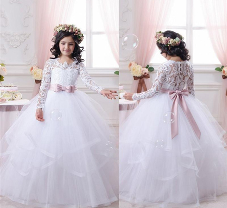 زیباترین مدل لباس های مجلسی دخترانه (دختر بچه ها)