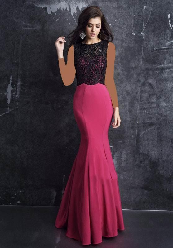 عکس های مدل های لباس مجلسی برند Nina Canacci