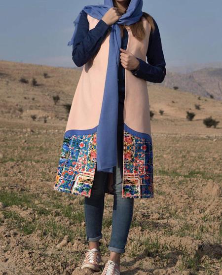 زیباترین مدل مانتو های طرحدار و خاص برای عید و بهار 98