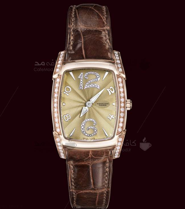 تصاویر مدل ساعت مچی زنانه بند چرمی برند Parmigiani