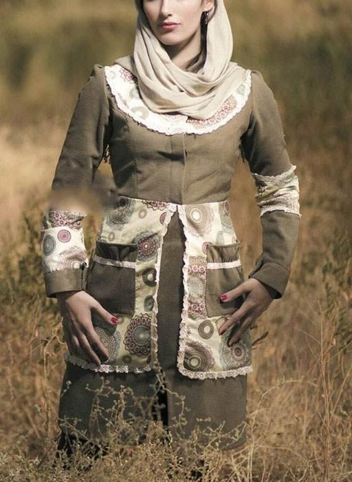 مدل مانتو شیک و زیبای Atoun Moda