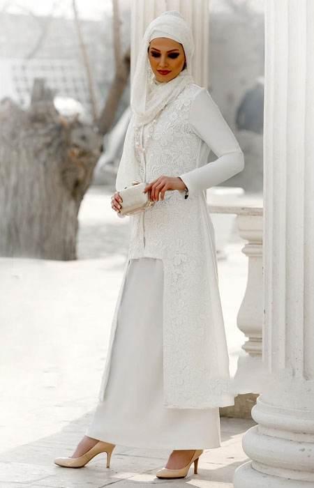 مدل مانتو زنانه کرپ مدل مانتو شیک و بلند مجلسی Vallentina
