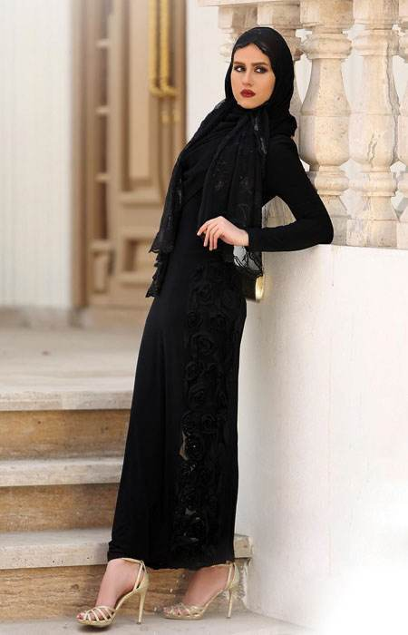 مدل مانتو شیک و بلند مجلسی Vallentina