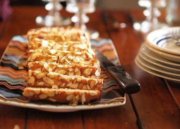کیک بادام زمینی
