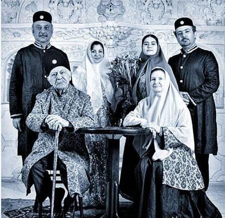 عکس بابک کریمی و خانواده عزیزش