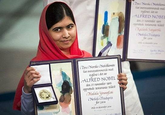 ملاله یوسف زَی (Malala Yousafzai)، فعال مدنی و جوان ترین برنده جایزه صلح نوبل