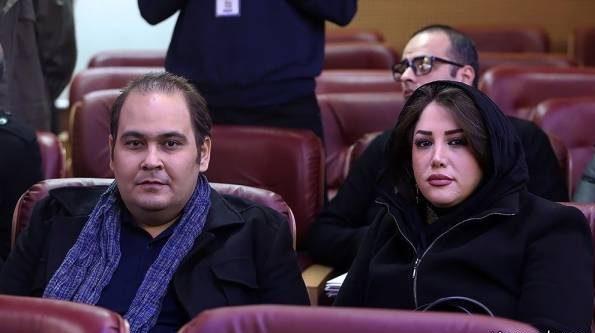 عکس جدید رضا داوود نژاد و همسرش در جشنواره فجر35