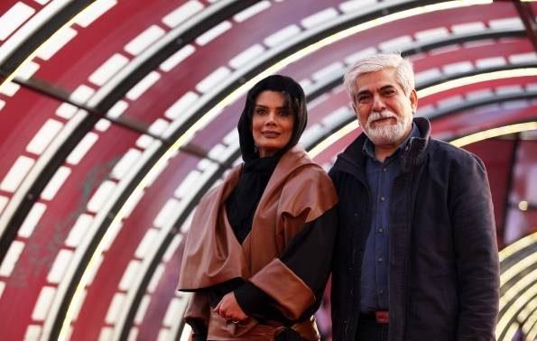 عکس حسین پاکدل و عاطفه رضوی در جشنواره فجر95