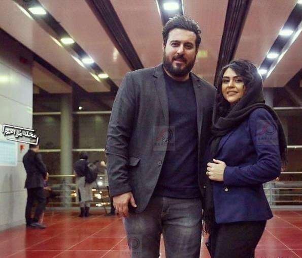 عکس محسن کیایی و همسرش در جشنواره فجر