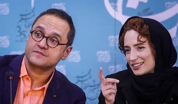 عکس رامبد جوان و نگار جواهریان در جشنواره فجر 35