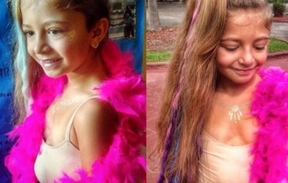 قلب این دختر 7 ساله زیبا بیرون از بدنش است!