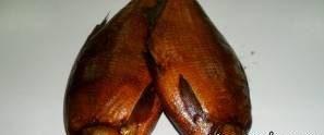 طرز تهیه ماهی دودی