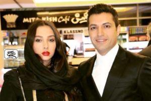 عکس جدید اشکان خطیبی از همسرش آناهیتا