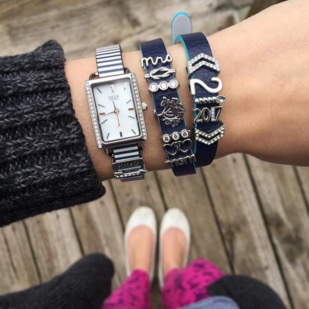 تصاویر ست ساعت و دستبند Meredith Taylor