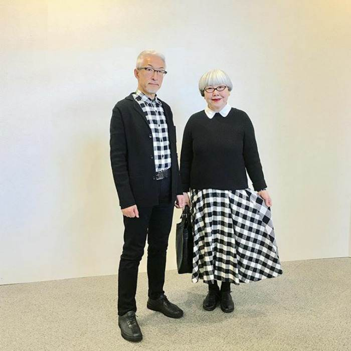 عکس های زن و شوهر عاشقی که همیشه لباس هایشان را ست می کنند!