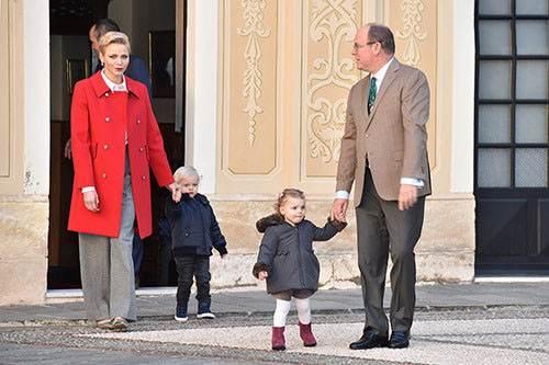 آلبر شاهزاده موناکو و شارلین