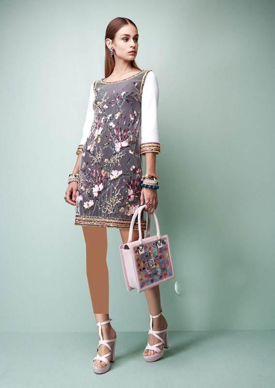 مدل لباس مجلسی بهاره برند Georges Hobeika