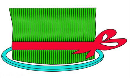 نقاشی سبزه سفره هفت سین