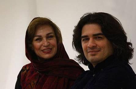 عکس پویان گنجی و مادرش عکس سامان احتشامی در کنار مادرش
