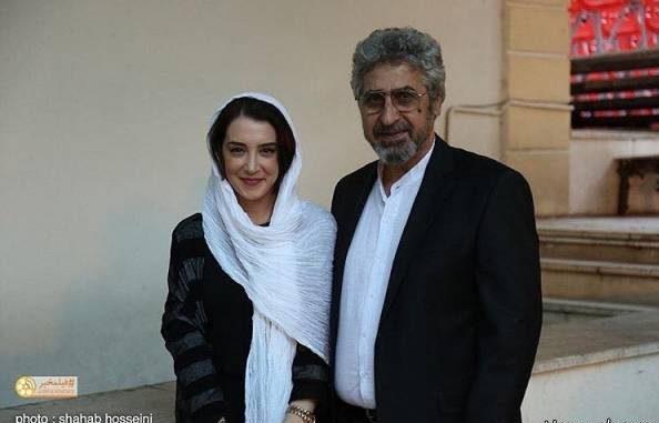 عکس سحر جعفری جوزانی به همراه پدرش