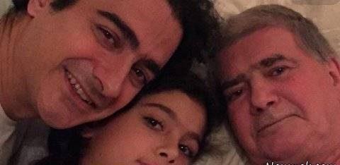 عکس سحر جعفری جوزانی به همراه پدرش عکس همایون شجریان و دخترش و پدرش محمدرضا شجریان