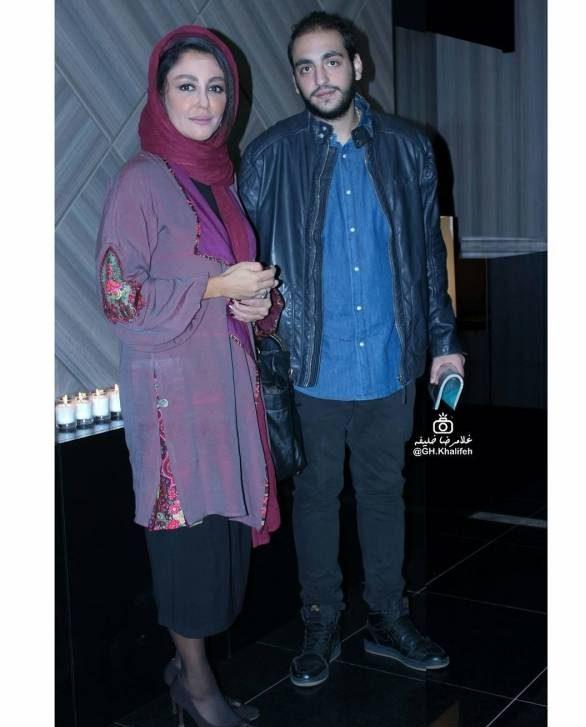 عکس سام حسامی و مادرش شقایق فراهانی