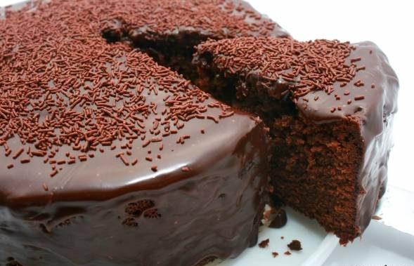 کیک شکلاتی رژیمی